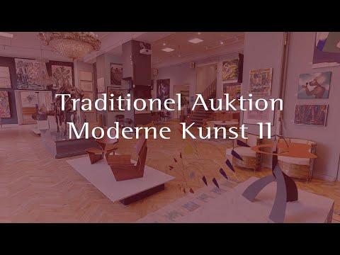Traditionel Auktion // Moderne Kunst II