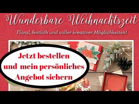 Wunderbare Weihnachtszeit-Stampin' Up!-jetzt vorbestellen und mein Angebot sichern