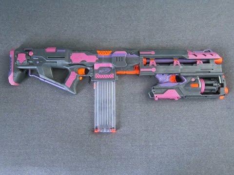 PINK MENACE MK-II ? [Nerf Stryfe Mod/Integration]