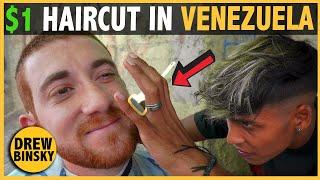 I Got a $1 Street Haircut in Venezuela