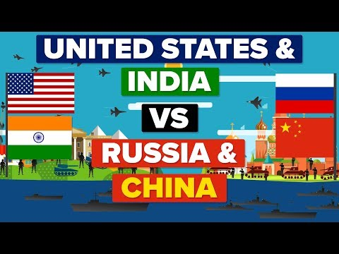 USA & India VS China & Russia - Who Would Win? (Army / Military Comparison)