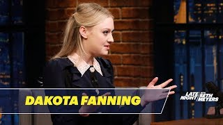 Dakota Fanning Is a Pro Instagram Stalker