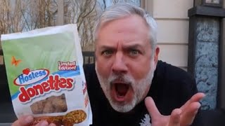 TRYING HOSTESS CARROT CAKE DONETTES! LIMITED EDITION