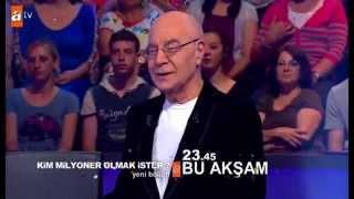 Kim milyoner olmak ister 4 haziran 2014 351. bölüm fragmanı Mazhar Alanson