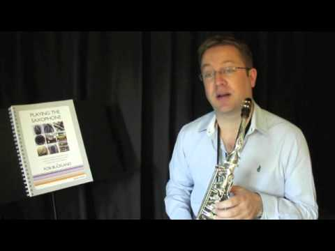 Rob Buckland - PLAYING THE SAXOPHONE - Video Tutorial on Extended Techniques