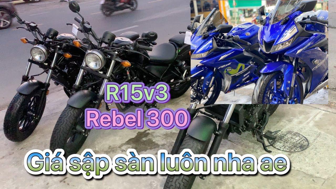 rebel 300 và r15v3 chưa bao giờ hết hot❤️