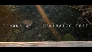 iPhone XR - Cinematic Video Test   FiLMiC Pro + Osmo Mobile 2