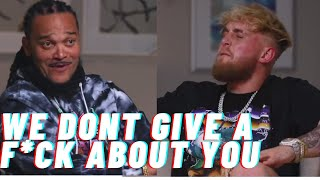 Channing Crowder TRASHES social media influencers but Jake Paul claps back.