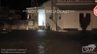 10-10-2018 Apalachicola, FL - Storm Surge Flooding
