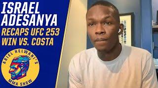 Israel Adesanya addresses pectoral controversy, Jon Jones trash talk at UFC 253   ESPN MMA