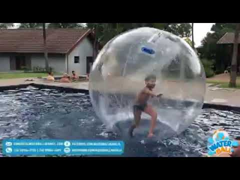 Water Ball Marília: diversão garantida!