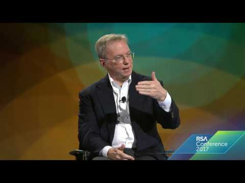 Eric Schmidt | Building an Internet Without Malicious Users | RSAC 2017