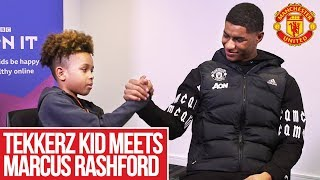 Tekkerz Kid meets Marcus Rashford!