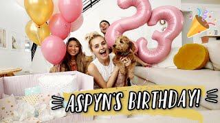 ASPYN'S 23RD BIRTHDAY! LAST BIRTHDAY WITH NO BABY!