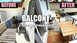 OUTDOOR BALCONY MAKEOVER!