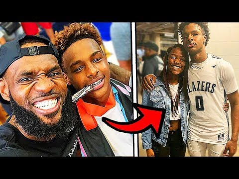 10 Things You Didn't Know About Bronny James! (LeBron James Jr)
