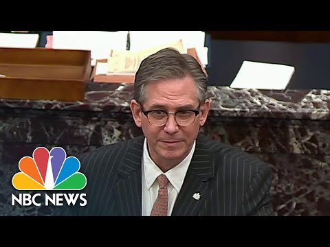 Trump Legal Team Focuses On Constitution In Defense Of Donald Trump | NBC News NOW