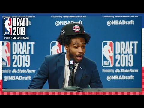 Coby White is HYPE After Cameron Johnson is Drafted! | 2019 NBA Draft