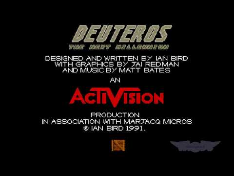 "Win an unopened Atari ST ""DEUTEROS"" game for free! (draw). For english audio jump to 4m 48 s."