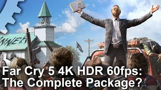 Far Cry 5 - Ultra HD, 60fps, High Dynamic Range
