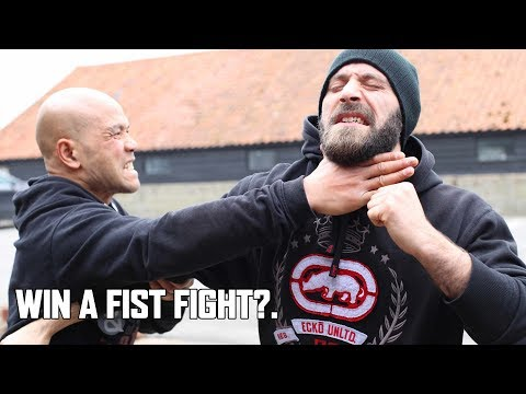 How do you win a fist fight?