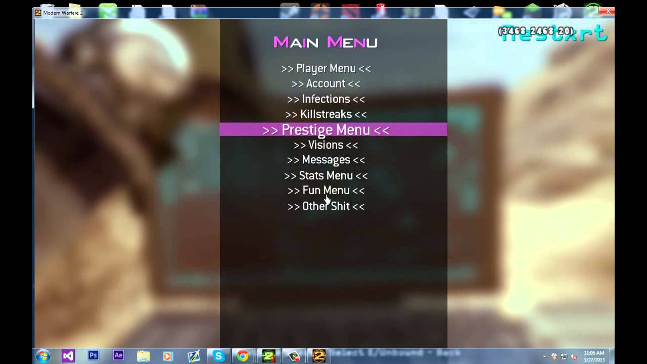 Pc mw2 modded lobby open se7ensins gaming community - Se7ensins mw2 ...