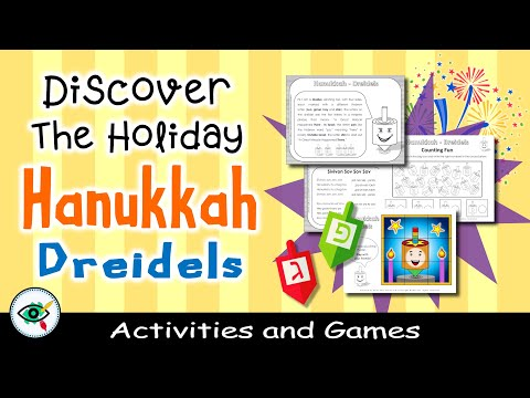video Hanukkah Dreidels Activities