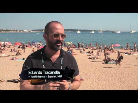 Reclame - Eduardo Tracanella, superint. de marketing do Itaú, no Cannes Lions 2016