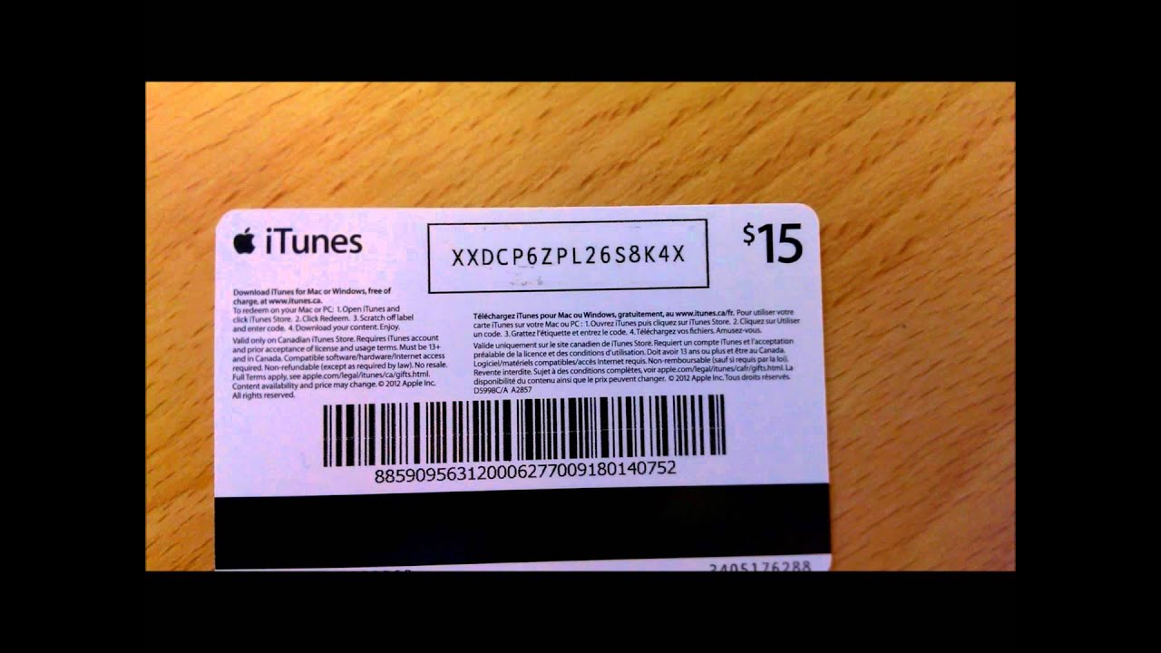 iTunes Gift Card Giveaway - YouTube