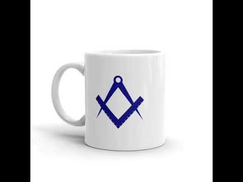 video Masonic mug – Personalised Masonic Gift or present for a freemason