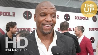 Terry Crews interview at Deadpool 2 premiere in New York