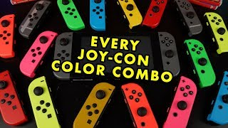 Every Nintendo Switch Joy-Con Color Combination!