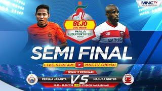FULL!! PERSIJA JAKARTA VS MADURA UNITED (FT:2-1) - Bejo Jahe Merah Piala Gubernur Jatim 2020
