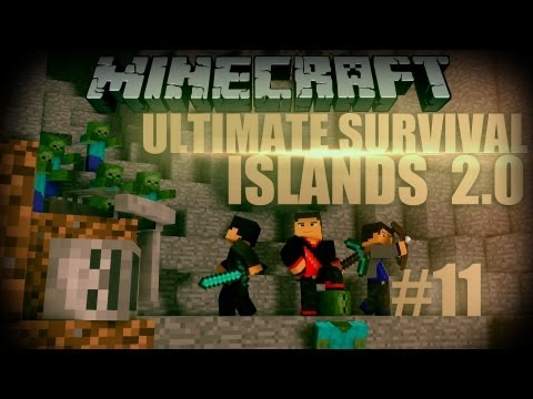 Minecraft: Ultimate Survival Islands 2.0 - Episode 11 - Bridge Challenge! - Smashpipe Games