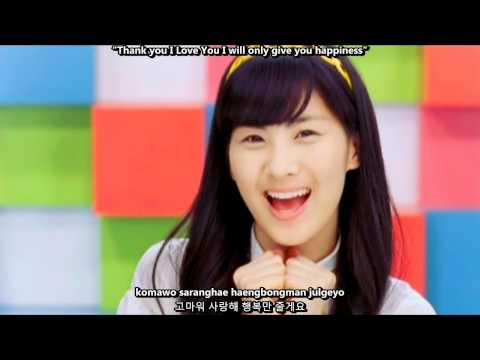 SNSD (Girls' Generation) - Kissing You MV [English subs + Romanization + Hangul] 720p (Reupload)