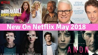 What´s New on Netflix on May 2018?