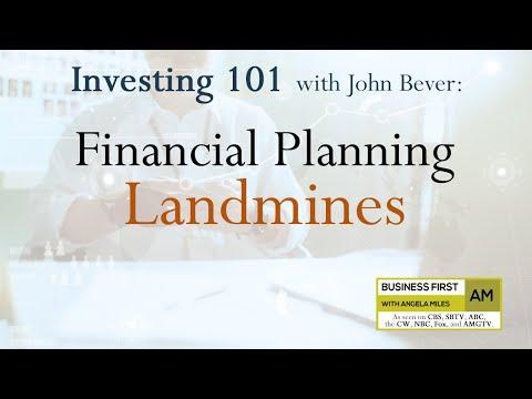 Investing 101: Financial Planning Landmines