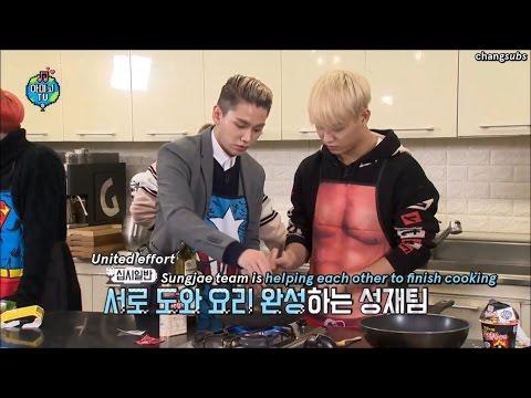 (ENG SUB) Amigo TV with BTOB   cooking cut (edited ver.)