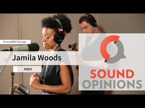 Jamila Woods performs