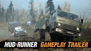 Spintires: MudRunner - Játékmenet Trailer