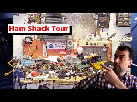 KM9G Ham Shack Tour 2020-10-05