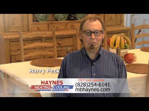 HAYNES Heating & Cooling: First-Rate Residential Heating & Cooling Services in Asheville NC