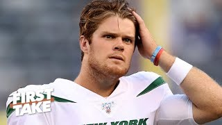 The Jets' season is over – Stephen A. reacts to Sam Darnold being sidelined with mono | First Take