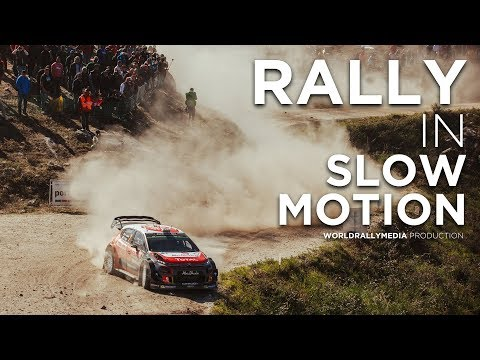 Rally In Slow Motion