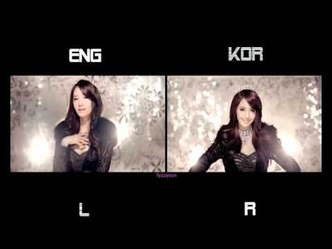 Girls' Generation (SNSD) - The Boys (Split Screen) (Eng/Kor)