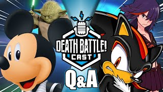 Too Much Marvel VS DC? (Q&A w/ #DeathBattle Writers!) | DEATH BATTLE Cast #222