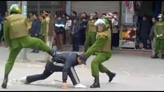 15ClipHot Video CSCĐ đánh nhau chống tội phạm đường phố 2016