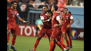 Home United 3-2 Persija Jakarta (AFC Cup 2018: ASEAN Zone Semi-final – First Leg)