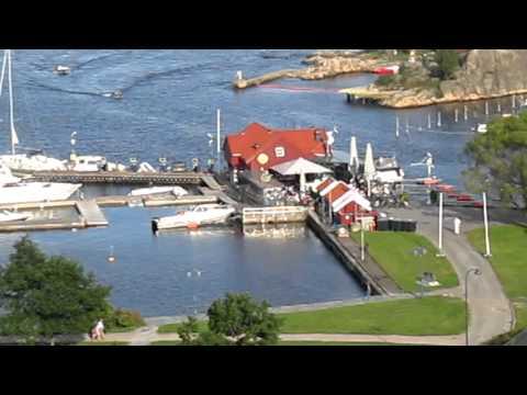 High Summer Season in Kristiansand, Norway