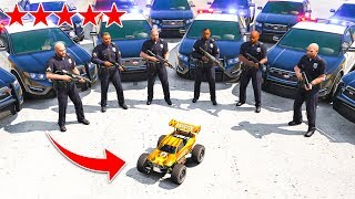 RC CAR VS *5 STAR* Wanted Level In GTA 5!